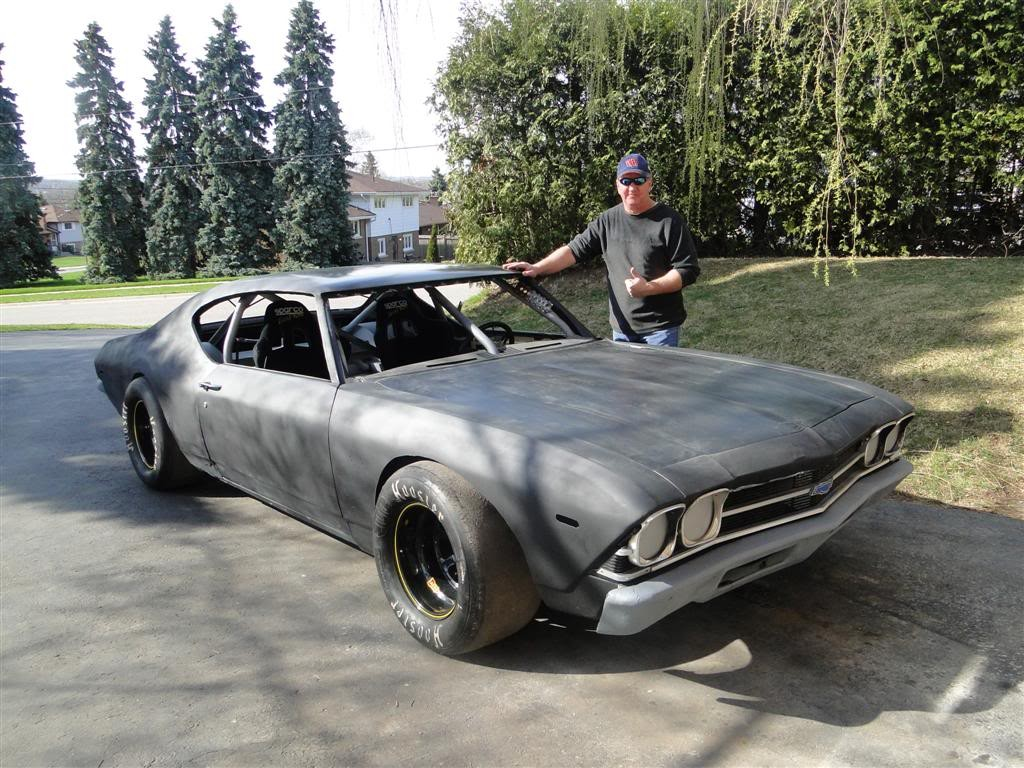 This 69 Chevelle Hides Under The Hood A 700hp Nascar