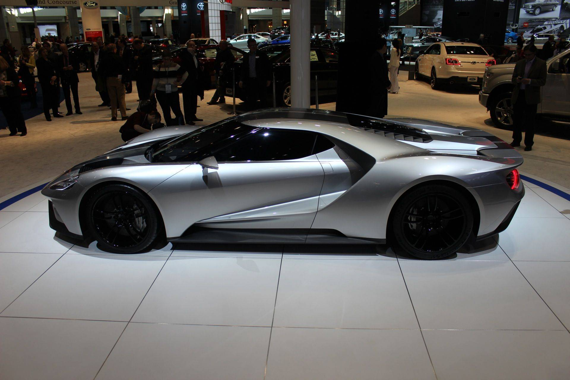 Ford Gt Prototype  Chicago Auto Show Live