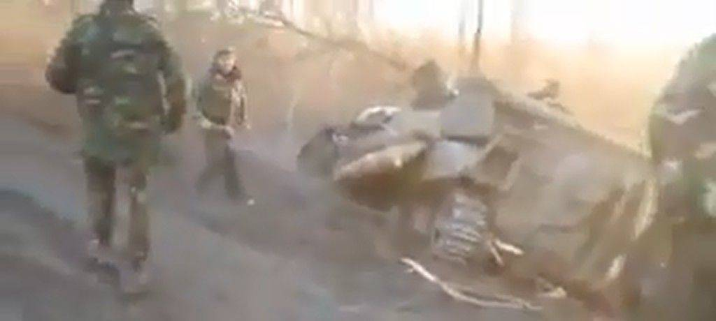 tank crassh