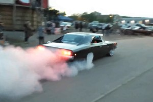 charger rt burnout
