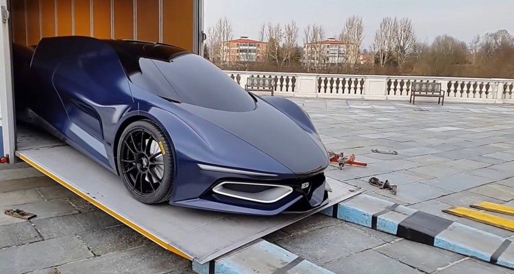 A Look On One Car Comming Form The Future This Syrma Gt Speed