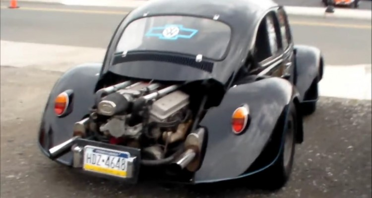 This is a LT1 V8 powered Volkswagen Beetle! – GT Sd