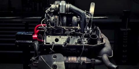 porsche engine video