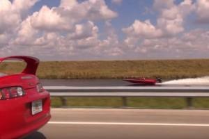 Powerboat vs Car