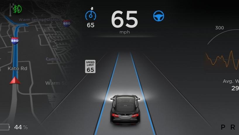 Tesla Model S Autopilot 1