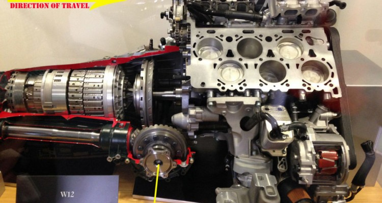 How Bentley Fits Its 12 Cylinder Engine Ahead W12 Continental S Front Axis