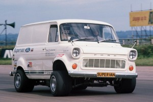 The V8 swapped Supervan
