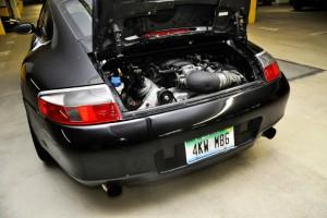 LS engine in a Porsche