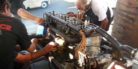 Knight sleeve valve engine