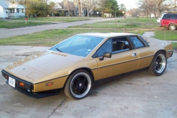 Ford Taurus Sho 0-60 >> Glorious Ford powered 1980 Lotus Esprit engine swap. – GT ...