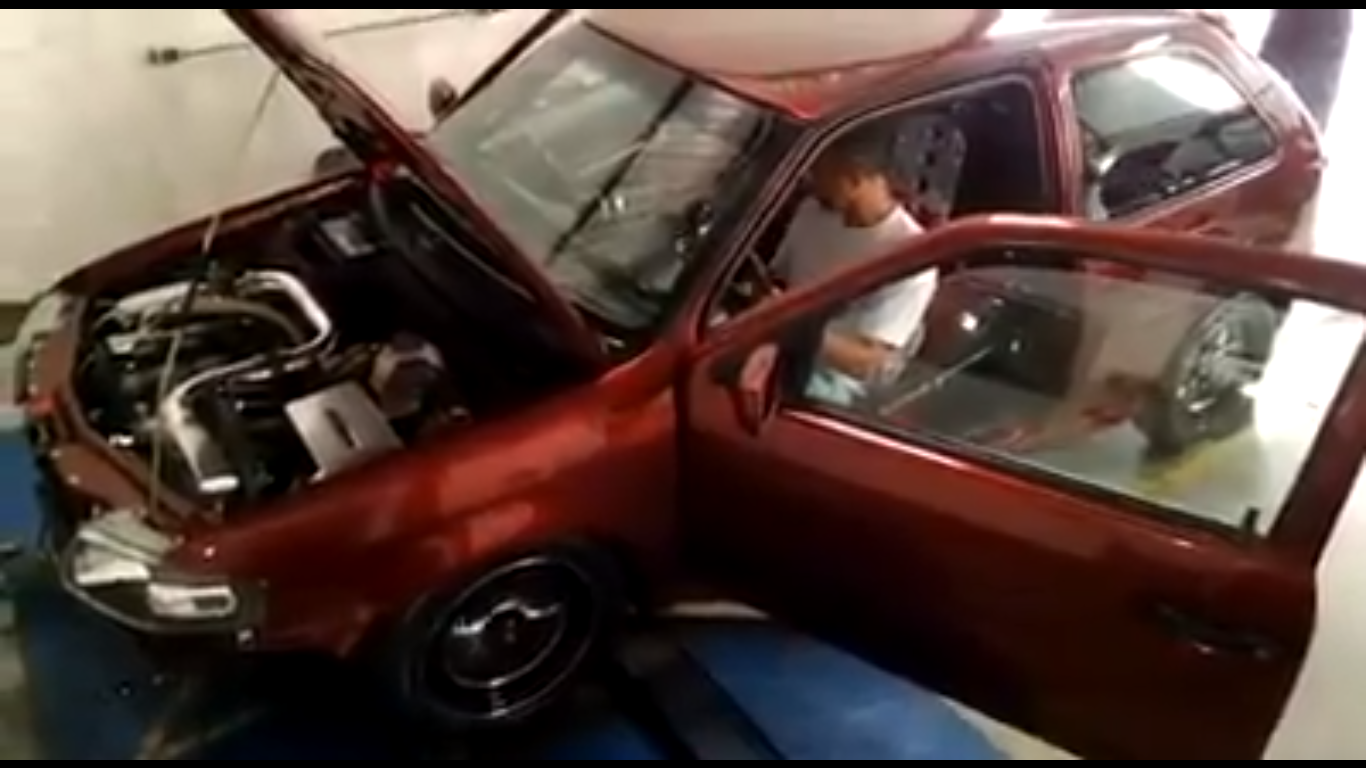 Car blows up in Dyno: Literally! – GT Speed