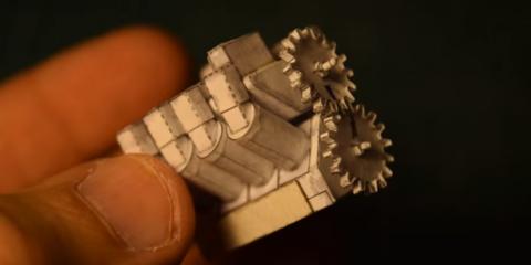 paper made V8