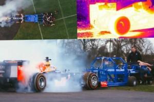 formula 1 car vs