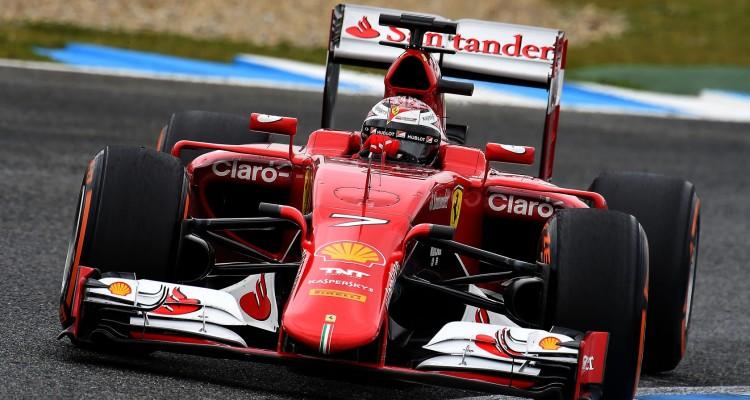 Ferrari's new Formula 1 car