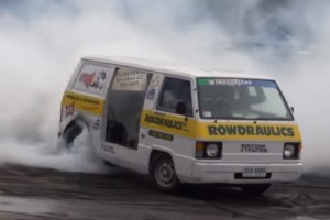 Twin V8 Van