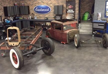 Vintage sprint car frame for sale 14