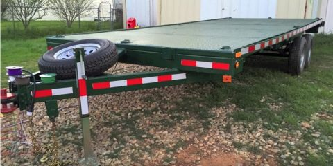 building a flatbed trailer
