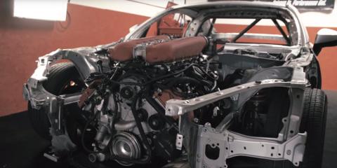 Ferrari V8 into a Toyota 86