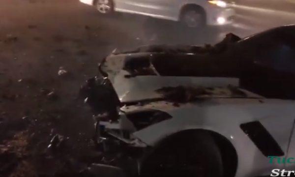 vette crash