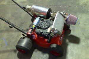 turbo-lawnmower
