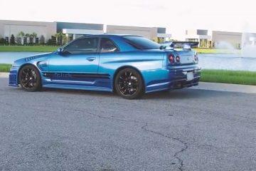 wide body GTR R34