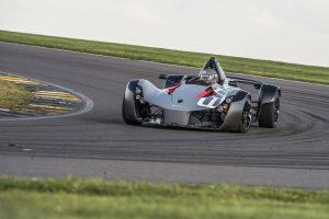 P1 GTR on track